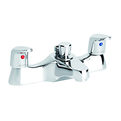 Image for Damixa Space Deck Bath Shower Mixer - Two Handle from StoreName