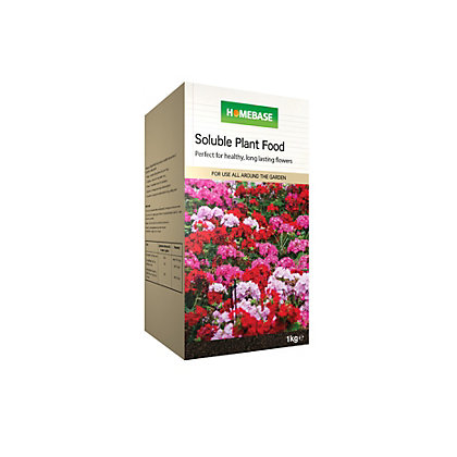 Image for Homebase Soluble Plant Feed - 1kg from StoreName