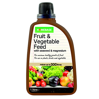 Image for Homebase Fruit And Vegetable Feed - 1L from StoreName