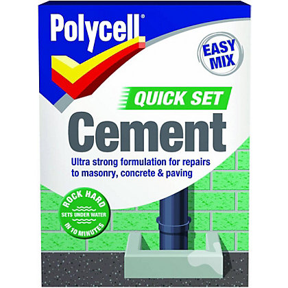 Image for Polyfilla Quick Set Cement - 2kg from StoreName