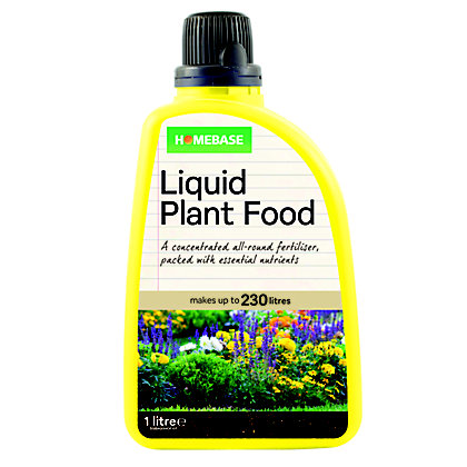 Image for Homebase Liquid Plant Feed - 1L from StoreName