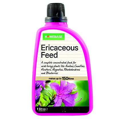 Image for Homebase Ericaceous Plant Feed - 1L from StoreName