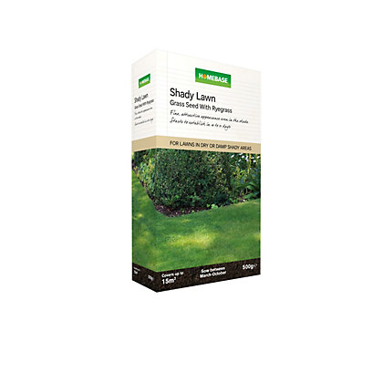 Image for Homebase Shady Lawn Seed - 0.5kg from StoreName