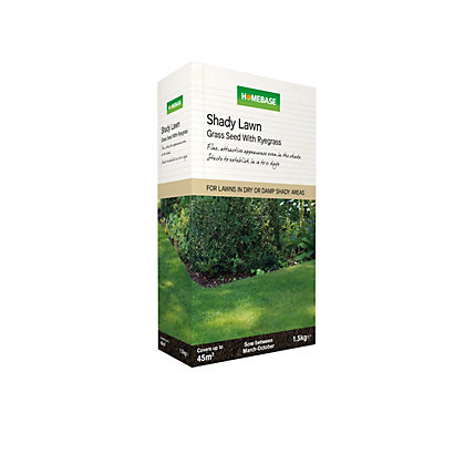 Image for Homebase Shady Lawn Seed -1.5kg from StoreName