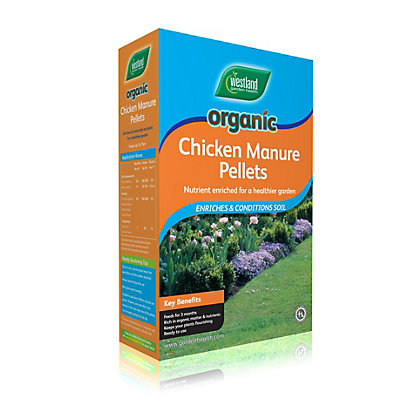 Image for Westland Organic Chicken Manure Pellets - 2.2kg from StoreName