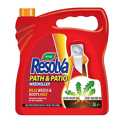 Image for Resolva Path and Patio Ready To Use Weed Killer - 3L from StoreName