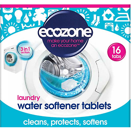 Image for Ecozone Calc16 Laundry Water Softener Tablets - Pack of 16 from StoreName