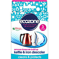Ecozone Kettle And Iron Descaler - Pack of 3