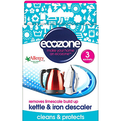 Image for Ecozone Kettle And Iron Descaler - Pack of 3 from StoreName