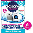 Ecozone Wmdc Washing Machine And Dishwasher Cleaner - Pack of 6