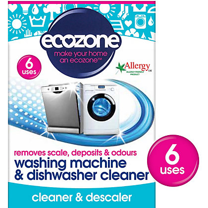 Image for Ecozone Wmdc Washing Machine And Dishwasher Cleaner - Pack of 6 from StoreName