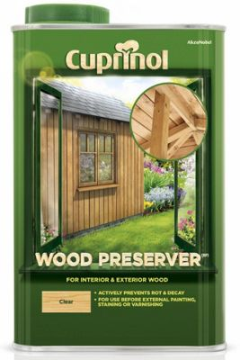 Homebase cuprinol garden wood preserver clear 1l customer reviews product reviews read Cuprinol exterior wood preserver clear