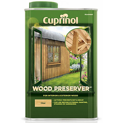 Image for Cuprinol Garden Wood Preserver - Clear - 1L from StoreName