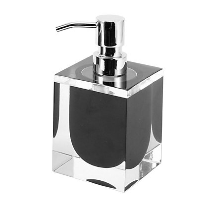 Image for Cubic Soap Dispenser - Black from StoreName