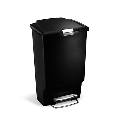 Image for Simplehuman Rectangular Bin - 45L - Black from StoreName