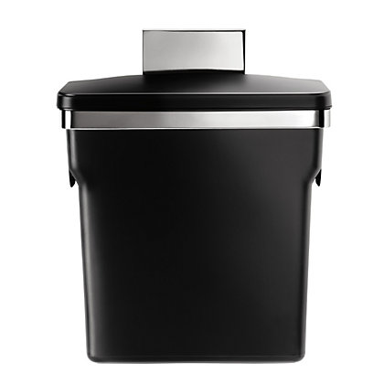 Image for Simplehuman In-Cabinet Bin - 10L - Black from StoreName
