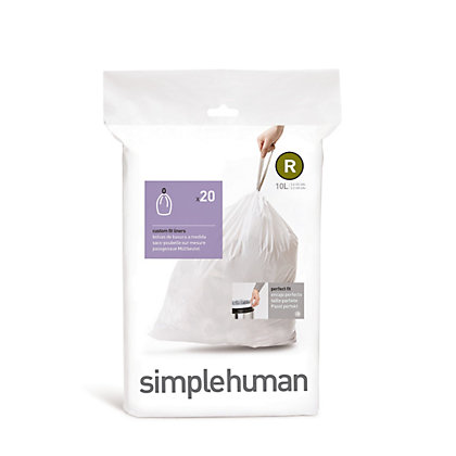 Image for Simplehuman Bin Liner Size Code R - 20 Pack from StoreName