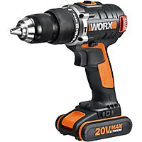 Worx WX373 MAX Lithium-Ion Brushless Impact Drill - 20V