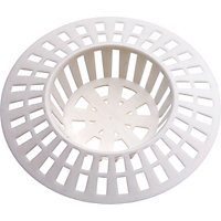 Basin Strainer White