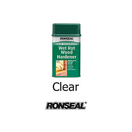 Image for Ronseal Wet Rot Wood Hardener - Clear - 500ml from StoreName