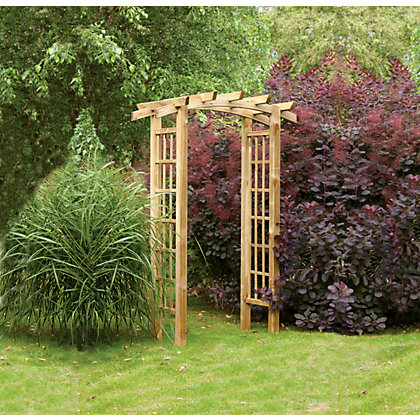 Image for Forest Ryeford Garden Arch from StoreName