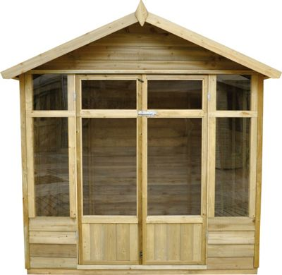 Log cabins summer houses garden office rooms Homebase