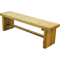 Forest Double Sleeper Bench - 1.2m