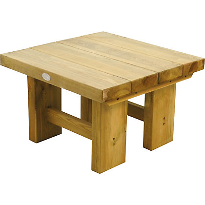 Image for Forest Low Level Sleeper Table - Natural - 0.7m from StoreName