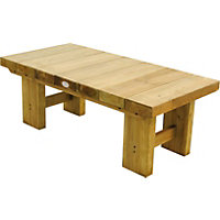 Forest Low Level Sleeper Table - 1.2m