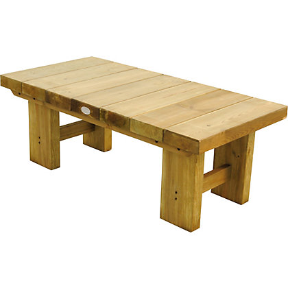 Image for Forest Low Level Sleeper Table - 1.2m from StoreName