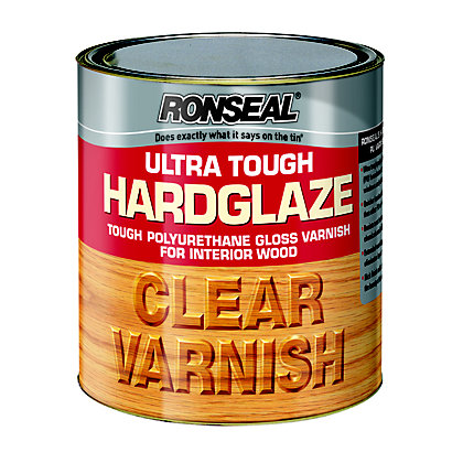 Image for Ronseal Hard Glaze Interior Varnish Clear - 2.5L from StoreName