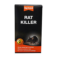 Rentokil Rat Killer Sachets (Pack of 2)