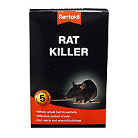 Rentokil Rat Killer Sachets (Pack of 5)