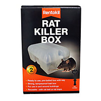 Rentokil Rat Killer Box and Key