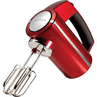 Morphy Richards 48989 Accents Hand Mixer - Red.