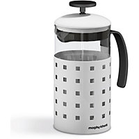 Morphy Richards Accents 8 Cup 1000ml Cafetiere - White.