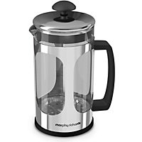 Morphy Richards Equip 8 Cup Cafetiere - Stainless Steel.