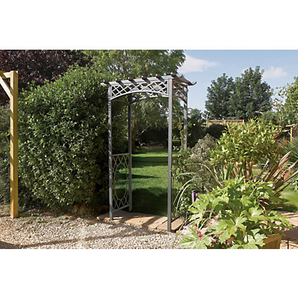 Image for Wrenbury Metal Garden Arch from StoreName