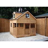 Mercia Dorma Wooden Playhouse - 7x7ft