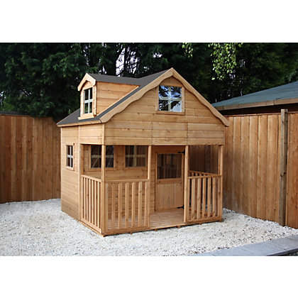 Image for Mercia Dorma Wooden Playhouse - 7x7ft from StoreName