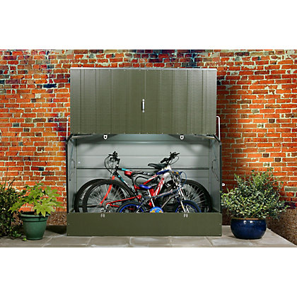 Image for Trimetals Protectacycle Bike Store Green - 6ft 5in x 2ft 11in from StoreName