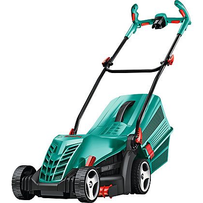 bosch rotak 37 14 ergoflex electric rotary lawn mower. Black Bedroom Furniture Sets. Home Design Ideas