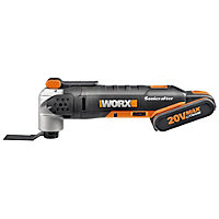 Worx WX678 Max Lithium-Ion Universal Oscillation Multi-tool - 20V