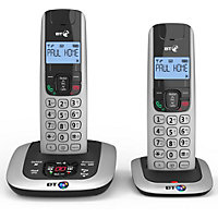 BT3520 Cordless Telephone with Answer machine - Twin
