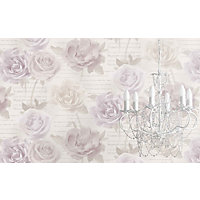 Rose Garden Wallpaper - Blush