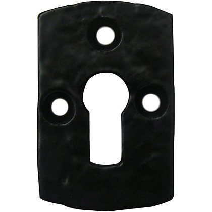 Image for Antique Escutcheon - Black from StoreName