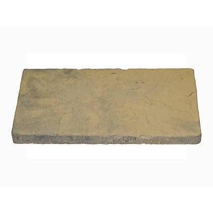 Image for Brett Walton Paving Single Size Patio Pack 600x300mm 12.10sq m 64 Pack - Cashmere from StoreName