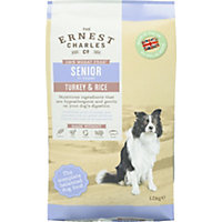Ernest Charles Turkey and Rice Senior Dog Food - 12kg
