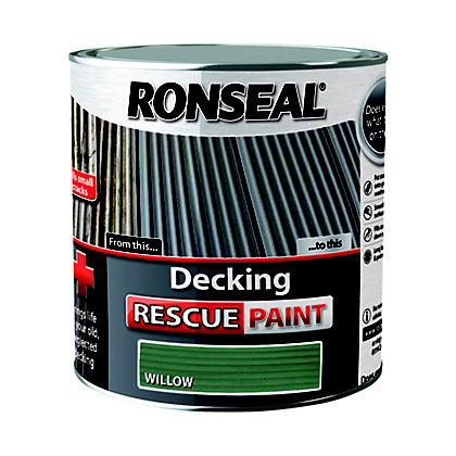 Image for Ronseal Decking Rescue Paint Willow - 2.5L from StoreName