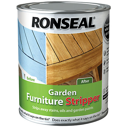 Image for Ronseal Garden Furniture Stripper - 750ml from StoreName